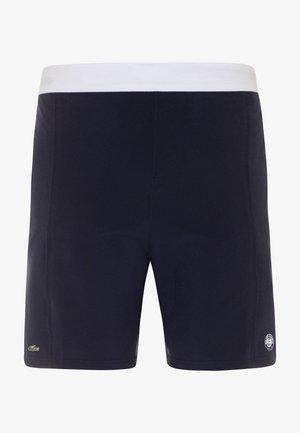 TENNIS SHORT ROLAND GARROS - Sportovní kraťasy - navy blue/white