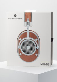 Master & Dynamic - MH40 OVER-EAR - Høretelefoner - brown/silver-coloured - 4