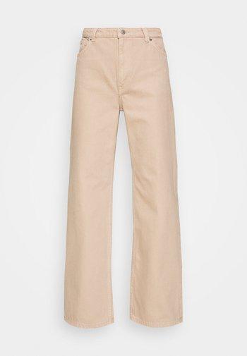 Straight leg jeans - beige medium dusty