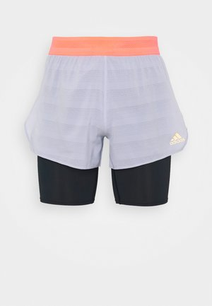 HEAT.RDY SHORT - Korte sportsbukser - grey/black/pink