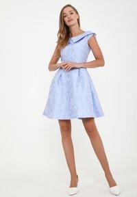 Madam-T - LUDOVIKA - Day dress - hellblau - 1