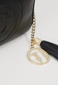 Trussardi Jeans - FAITH CAMERA CASE - Across body bag - black - 2