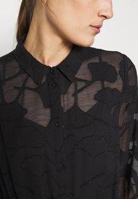 Moss Copenhagen - SERICE DRESS - Košilové šaty - black - 5