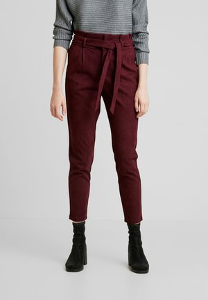 VMEVA PAPERBAG SOFT - Broek - port royale