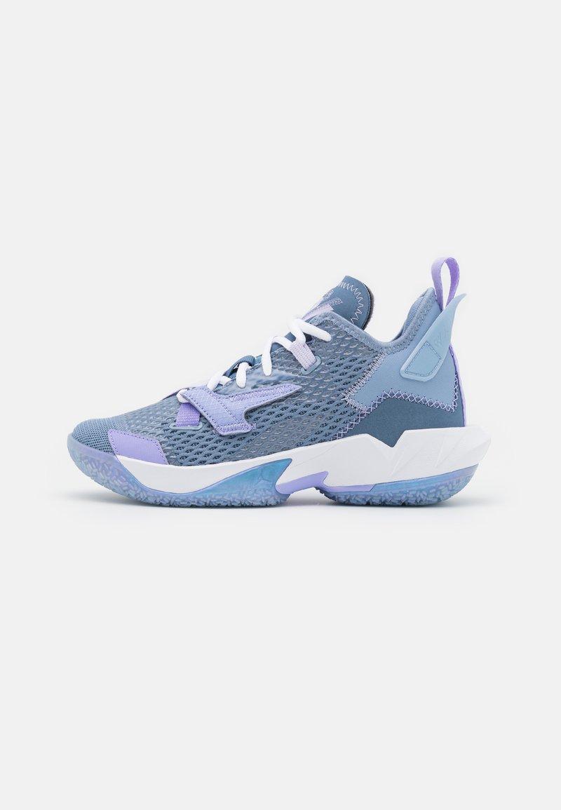 Jordan - WHY NOT ZER0.4 BG UNISEX - Basketball shoes - indigo fog/purple pulse/violet frost