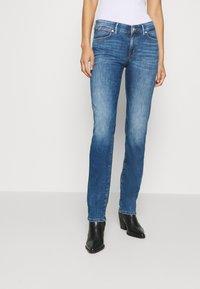 Marc O'Polo - Straight leg jeans - blue wash - 0