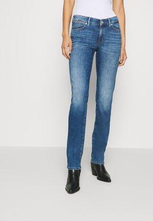 Jeans straight leg - blue wash