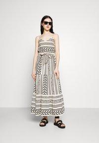 Vero Moda - VMDICTHE SINGLET ANCLE DRESS - Maxi dress - birch/dicthe/black - 1
