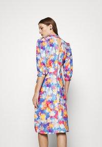 Closet - PLEATED SLEEVE A LINE DRESS - Kjole - blue - 2