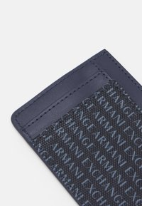 Armani Exchange - CARD HOLDER - Wallet - navy - 3