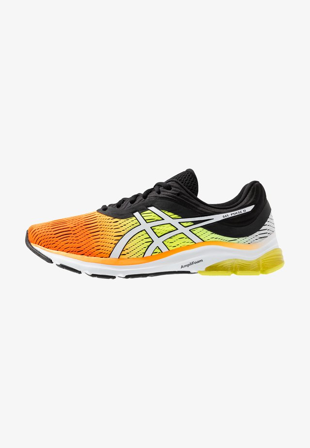 GEL-PULSE 11 - Neutral running shoes - shocking orange/black