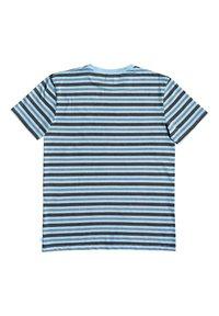 Quiksilver - CAPITOA - Print T-shirt - capitoa airy blue - 5