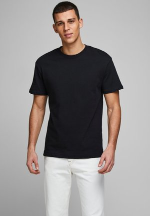 JJELIAM TEE SS CREW NECK NOOS - T-shirt basic - black