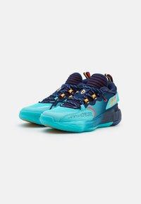 adidas Performance - DAME 7 EXTPLY BASKETBALL LILLARD LIGHTSTRIKE SHOES MID - Basketball shoes - blue - 1