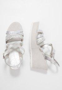 Marco Tozzi - Platform sandals - silver - 3