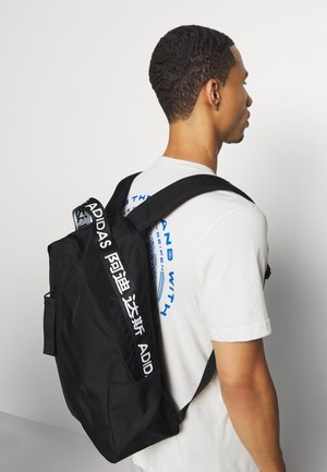3 STRIPES BACK TO SCHOOL SPORTS BACKPACK UNISEX - Rucksack - black/white