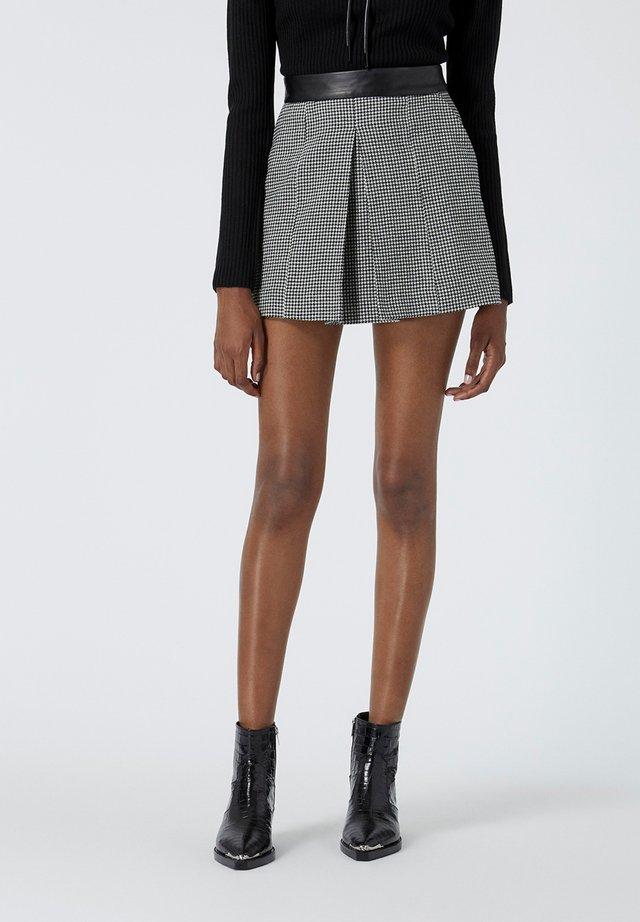 JUPE - A-line skirt - black