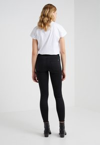 7 for all mankind - CROP - Skinny džíny - black - 2