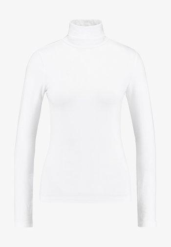 BASIC - Long sleeved top - white