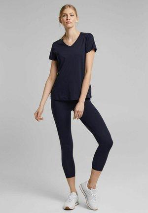 MIT E DRY - T-shirt basique - navy