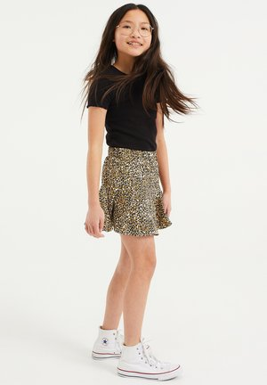 SKORT - A-lijn rok - brown