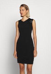 Just Cavalli - Pouzdrové šaty - black - 0
