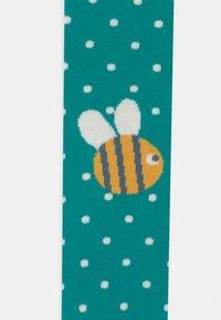 Frugi - FUN BUMBLE BEE POLKA DOT - Tights - green - 2