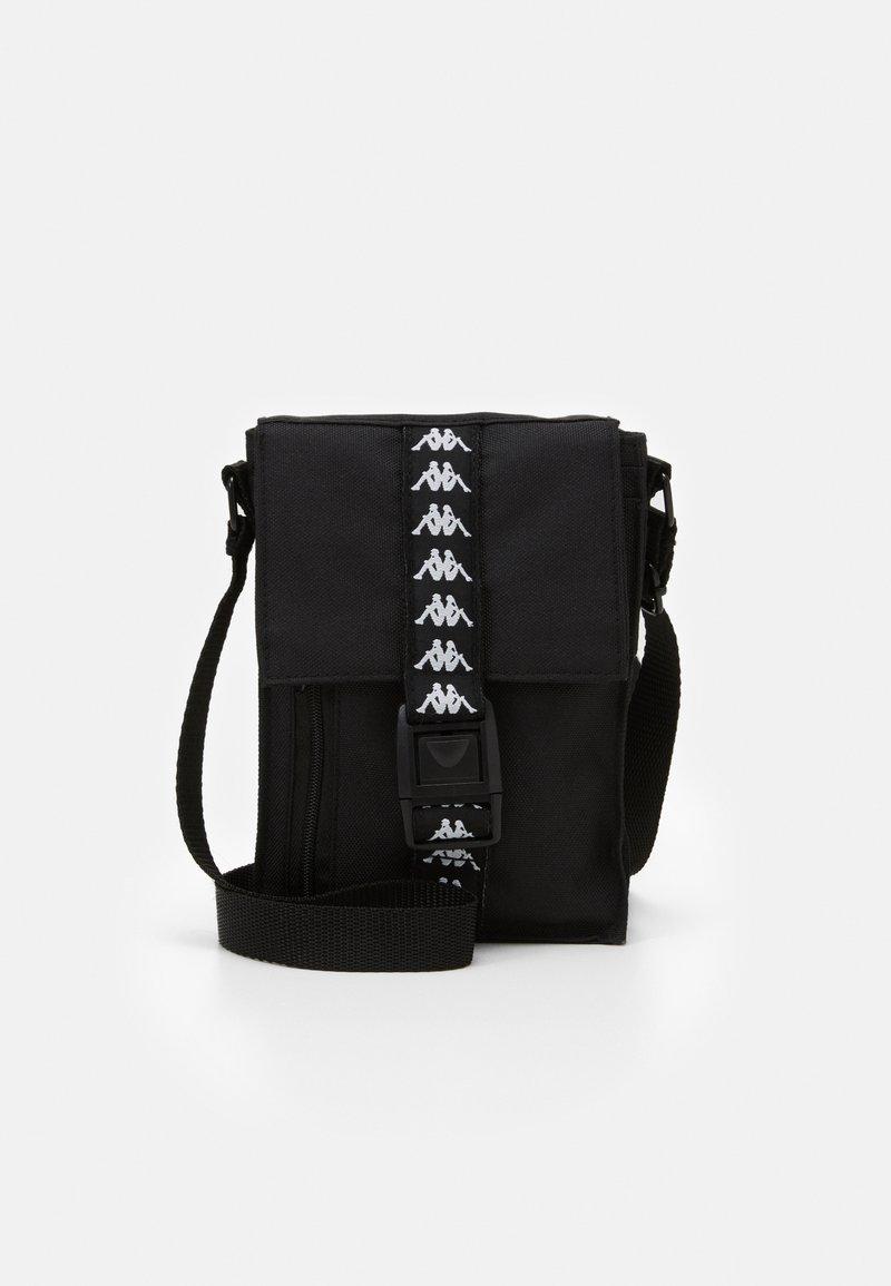Kappa - HUBUS UNISEX - Across body bag - caviar