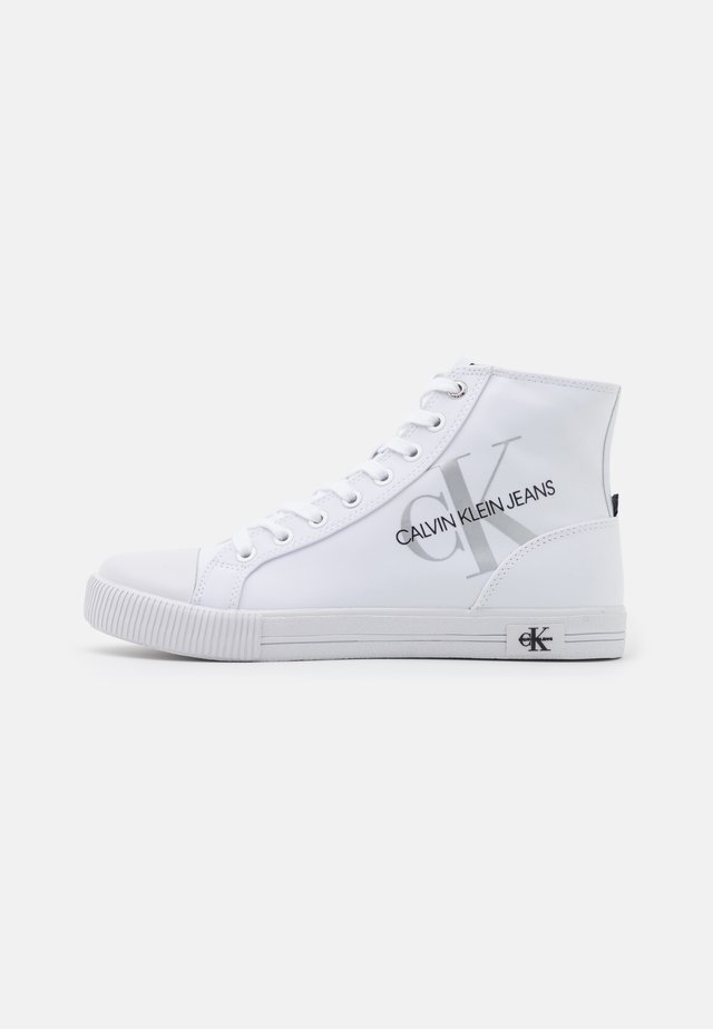 VULCANIZED - Sneakers hoog - bright white