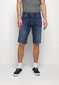 s.Oliver - Denim shorts - blue denim - 0