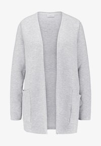 ONLY - ONLKIMBERLY JOYCE LONG CARDIGAN - Strikjakke /Cardigans - light grey - 4