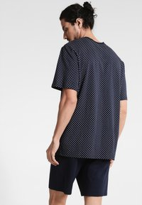 Schiesser - ANZUG KURZ SET - Pyjama set - dunkelblau - 2
