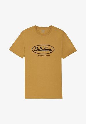 STATE BEACH - Camiseta estampada - gold