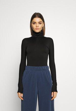 MIRANDA TURTLENECK - Long sleeved top - black