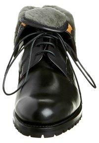 Prime Shoes - SANTO - Lace-up ankle boots - black - 3