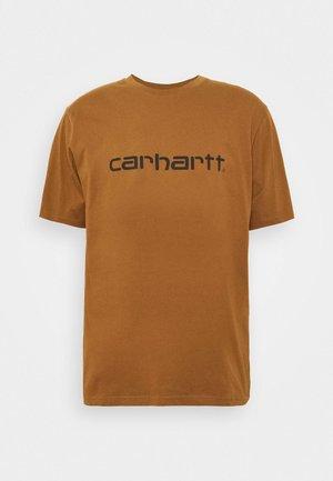SCRIPT - Print T-shirt - hamilton brown/black