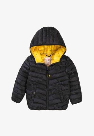 Winter jacket - dark grey camo