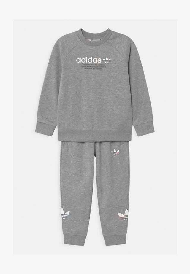 CREW SET UNISEX - Tracksuit - medium grey heather