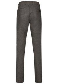 Club of Comfort - GARVEY IM WOLL LOOK - Trousers - light gray - 1