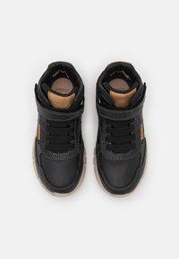 Geox - FLEXYPER BOY - Lace-up ankle boots - black - 3