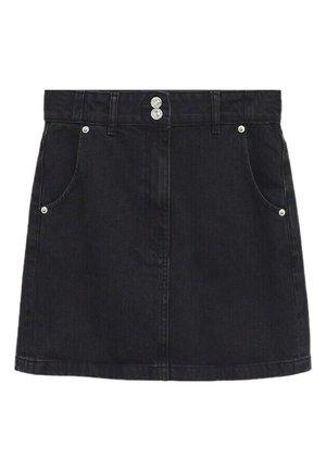 Minijupe - black denim