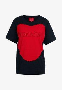 Escada Sport - EHERZ TEE - T-shirt con stampa - black - 4