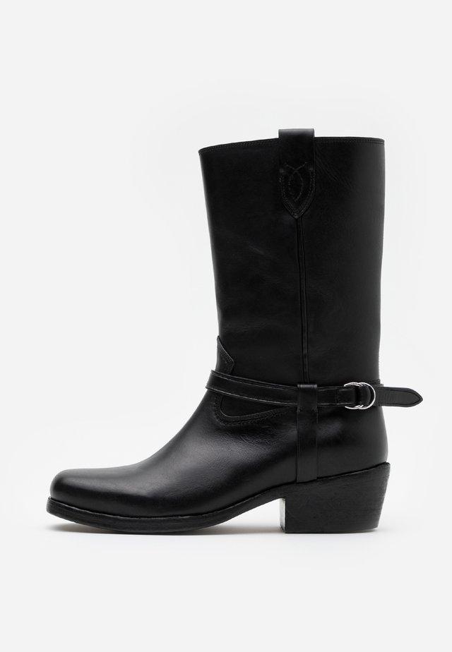 HARNESS BOOT CASUAL - Cowboy/Biker boots - black