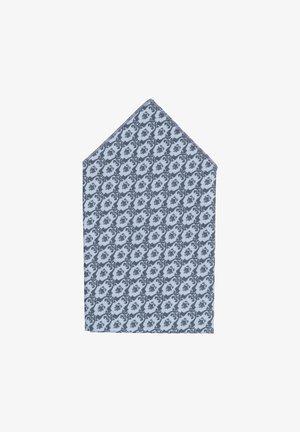 TANTE LUISE - Mouchoir de poche - dunkelgrau/hellgrau