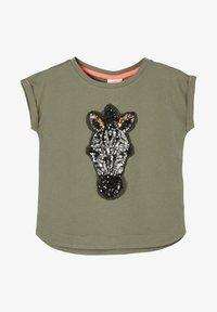 s.Oliver - Print T-shirt - khaki - 0