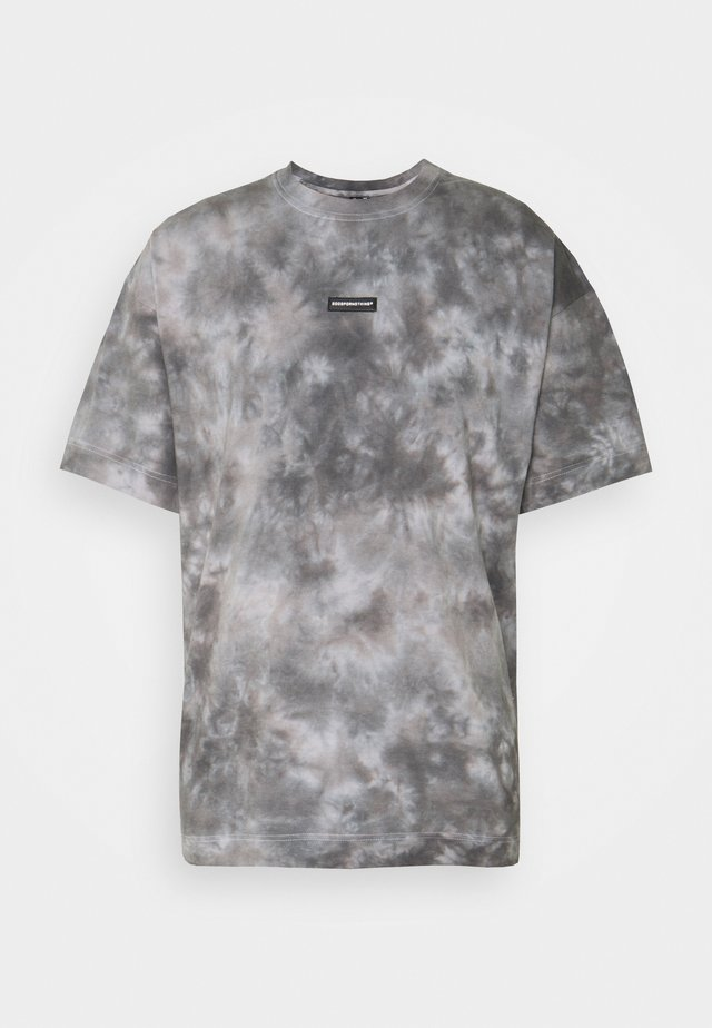 UNISEX OVERSIZED PARTICLE DYE  - Print T-shirt - grey