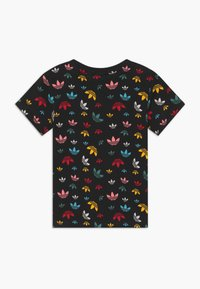adidas Originals - T-shirt med print - black/multicolour/white - 1
