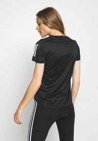 adidas Performance - OWN THE RUN TEE - Triko s potiskem - black - 2