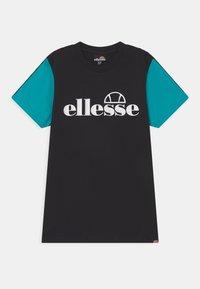 Ellesse - SORVETO OVERSIZED  - Camiseta estampada - black - 0