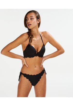 CHEEKY - Bikini bottoms - black